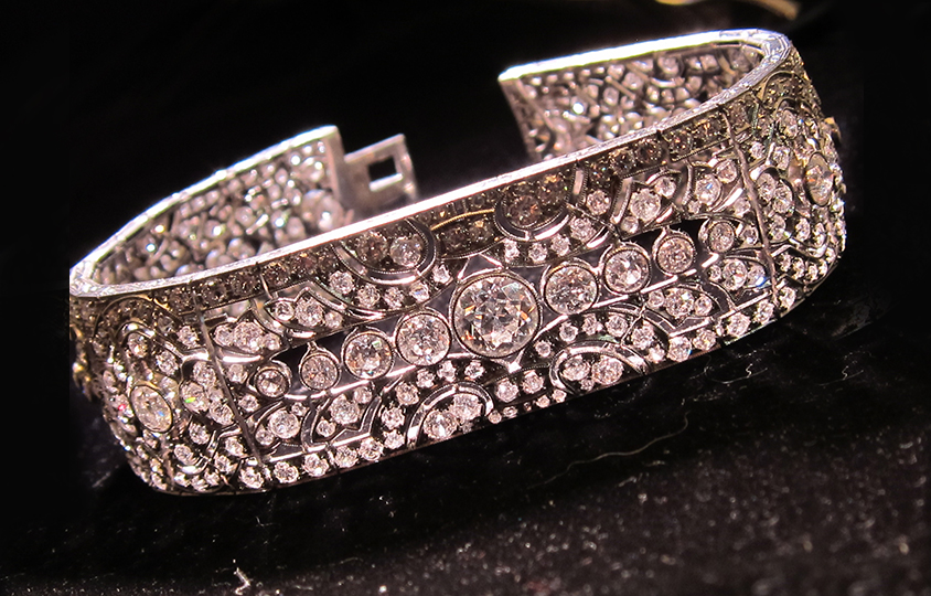Main Diamond Austrian Hallmarked