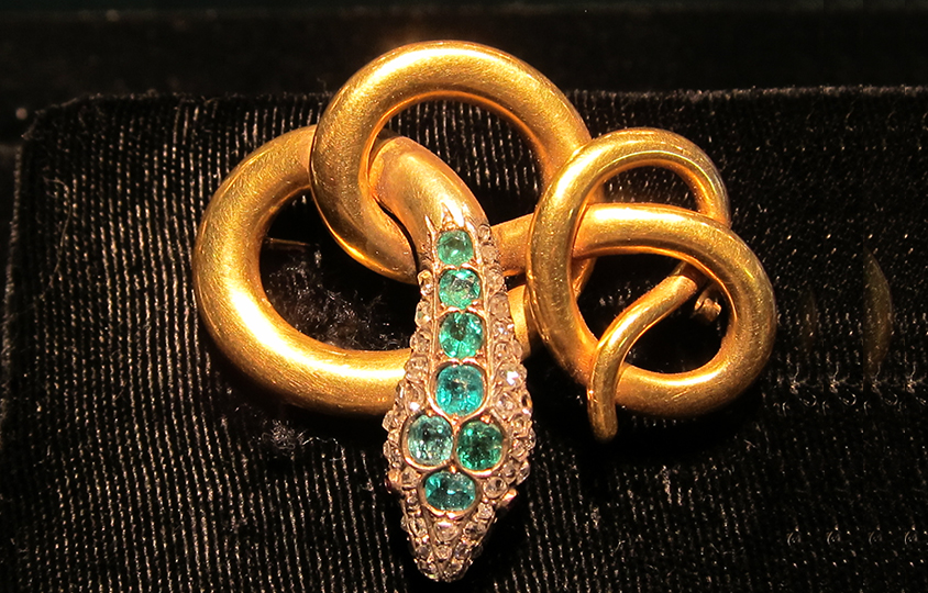 snake Brooch Chicago