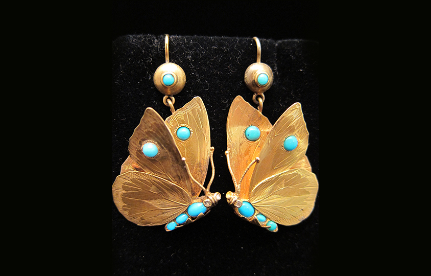 Butterfly Earring Chicago