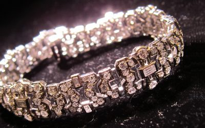 b5312450f Line bracelet, signed tiffany. cuts-of-diamonds bracelets chicago