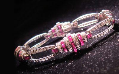 lozenge link bracelet Chicago
