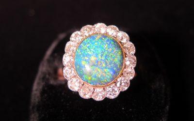 platinum-gold-opal-diamond-cluster-ring