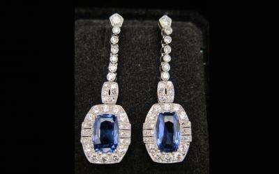 Antique Diamond Earrings Chicago