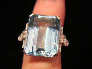 Diamond with Calibre Amethyst