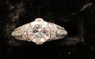 Antique Diamond Rings Chicago
