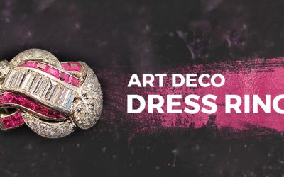 Art Deco Dress Rings Chicago