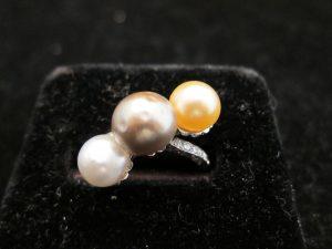 Natural Pearl & Diamond, set in platinum, circa 1930
