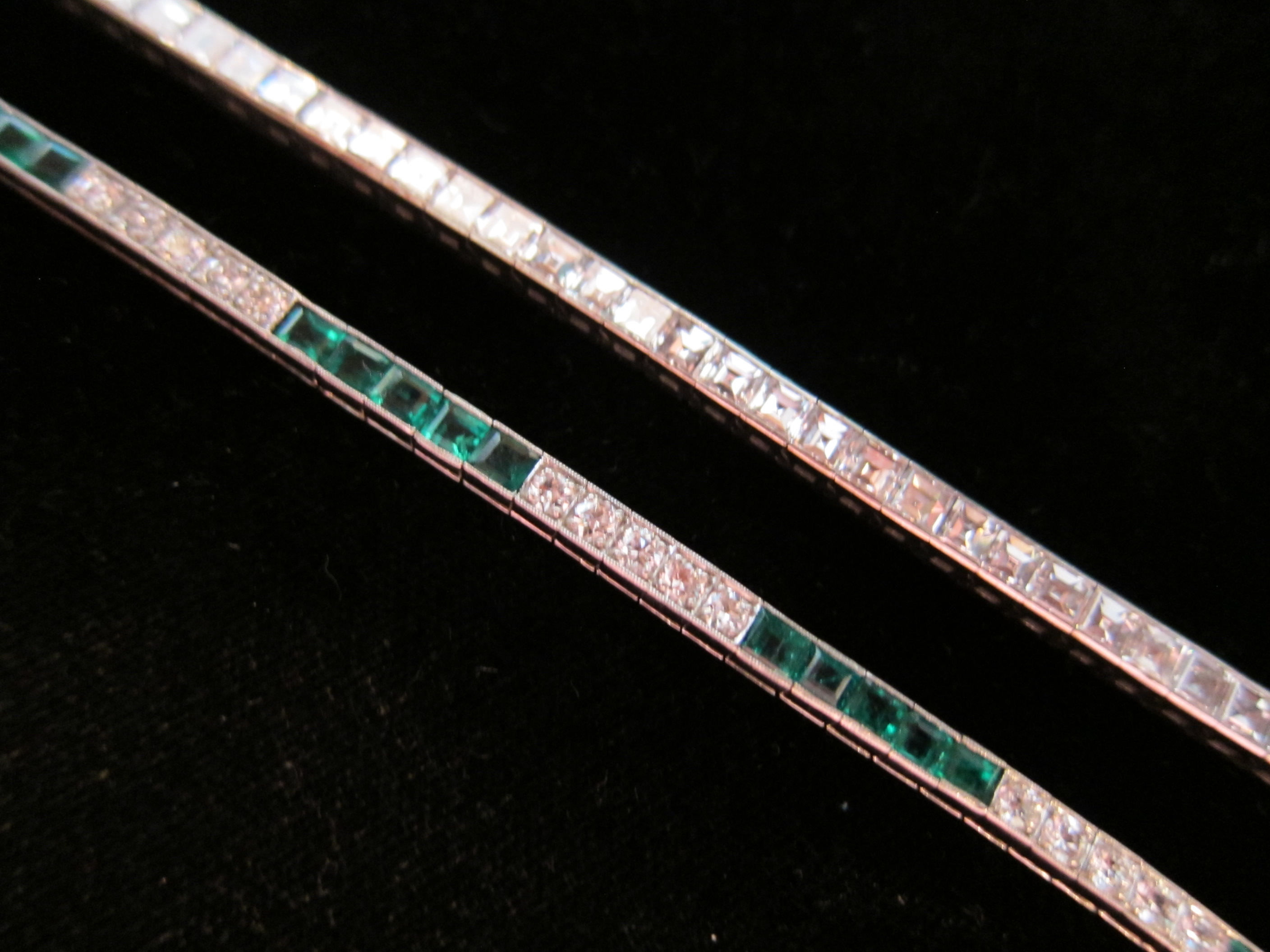 Diamond line bracelets chicago