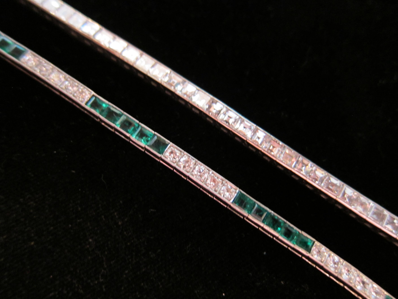 Diamond line bracelets chicago