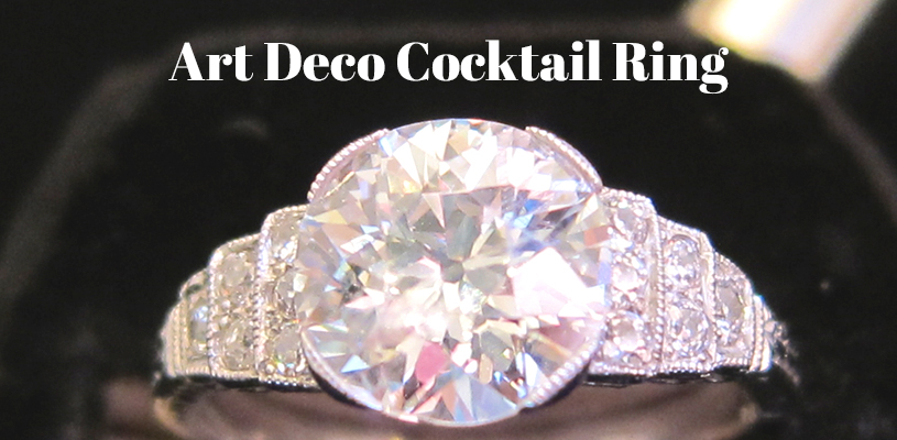 Cocktail Rings From The Art Deco Era Beverley R