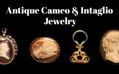 Antique Cameo & Intaglio Jewelry