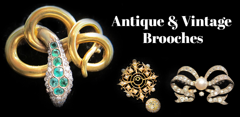 Antique & Vintage Brooches Chicago