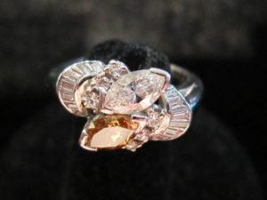 Art Deco, Platinum and Marquise diamonds