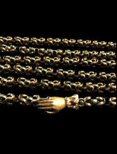Antique Georgian Chain Necklace Chicago