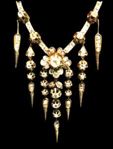 Antique Victorian Fringe Necklace Chicago