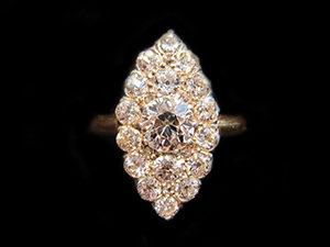 Diamond Marquise shape Dress Ring
