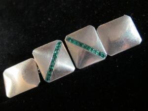 platinum cufflinks